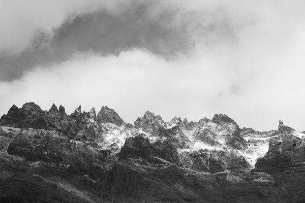 Cloud over Patagonian hills  thumbnail