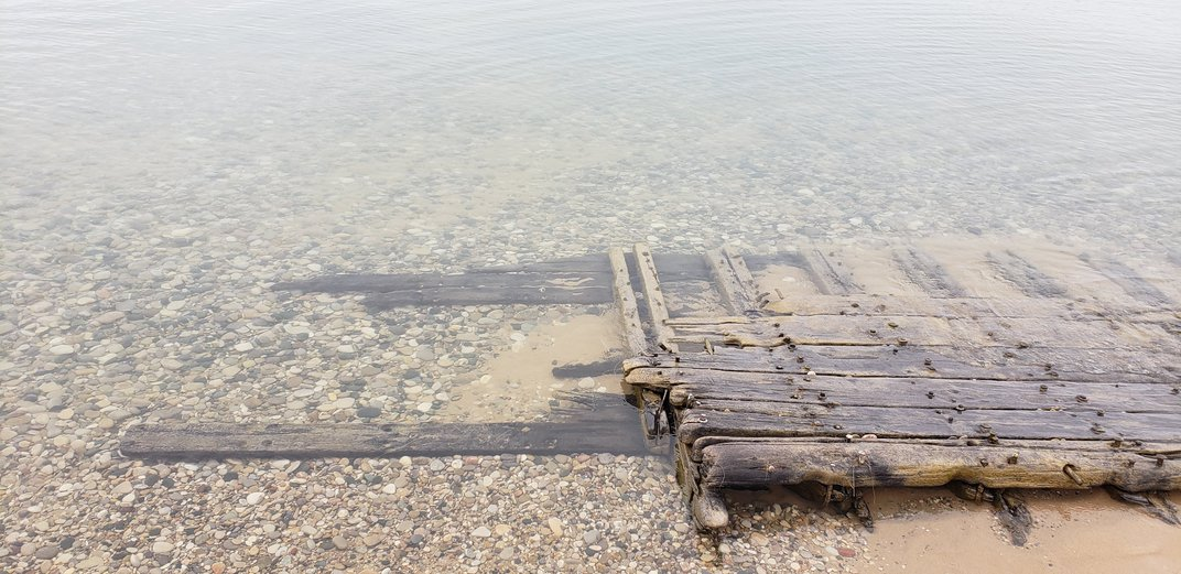 High Waters in the Great Lakes Reveal Two Centuries-Old Shipwrecks