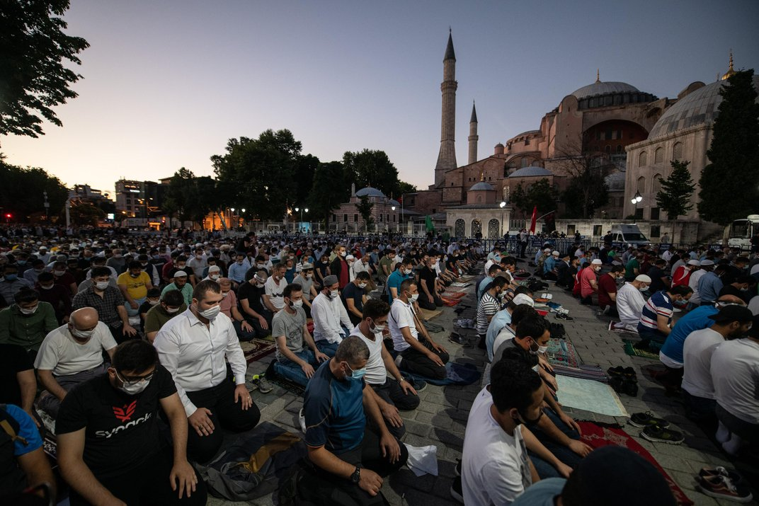 Turkey Controversially Converts Hagia Sophia From Museum Into Mosque