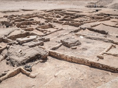 A team uncovered the lost city while searching for a mortuary temple last September.