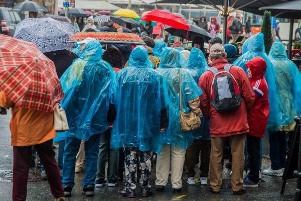 Rainy Day Blues in Bergen, Norway thumbnail