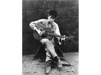 Bob Dylan by John Cohen, 1962
