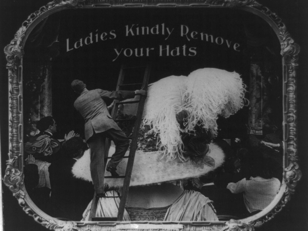 Ladies Kindly Remove Your Hats