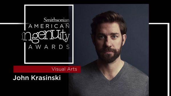 Preview thumbnail for Smithsonian Ingenuity Award Winner: John Krasinski
