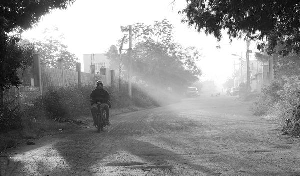 Hazy Morning on the Island thumbnail