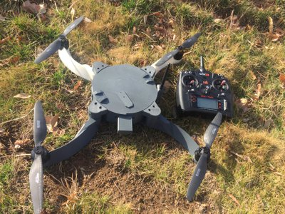 A low-cost drone built by marines