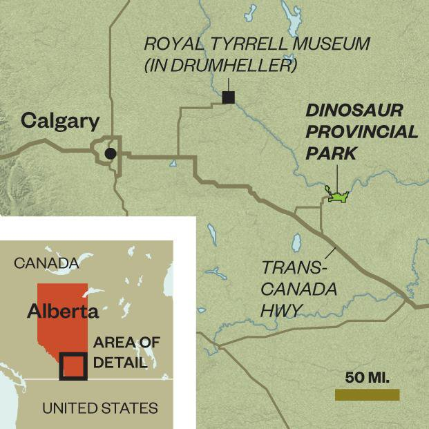Want to Excite Your Inner Dinosaur Fan? Pack Your Bags for Alberta