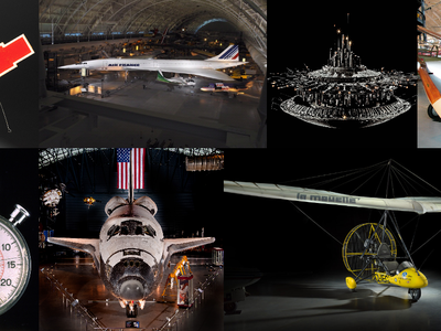 Reopening July 24, 2020, the Smithsonian's 300,000 square-foot Udvar-Hazy Center includes singular, memorable and colossal items of air and space history.