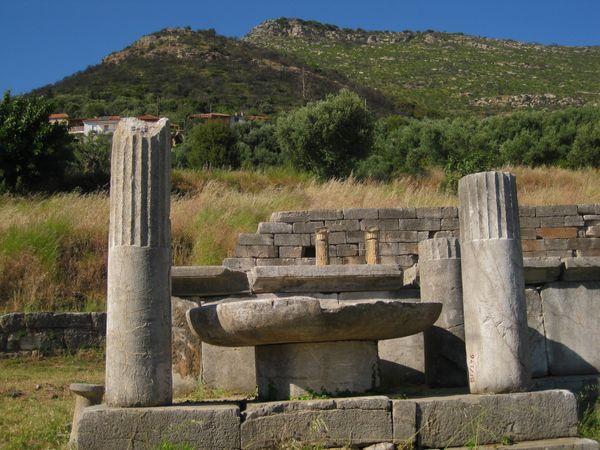 Ruins at Mount Ithome, Messenia Greece thumbnail