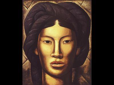 Alfredo Ramos Martínez, La Malinche (Young Girl of Yalala, Oaxaca), 1940