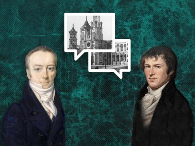 When Alexander von Humboldt (right) traveled to England in 1790, he met a young chemist named James Smithson, the founder of the Smithsonian. Humboldt's influence still resonates throughout the massive museum and research complex.