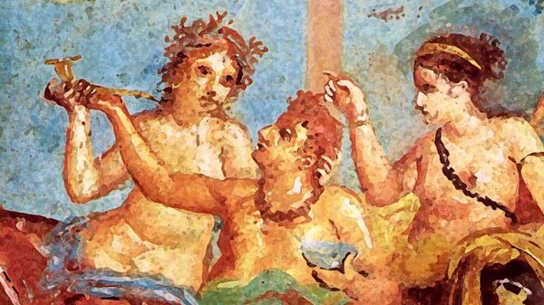 Preview thumbnail for Ask Smithsonian: Why Did Ancient Greeks and Romans Lie Down to Eat?