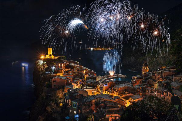 Fireworks on Patron's day thumbnail