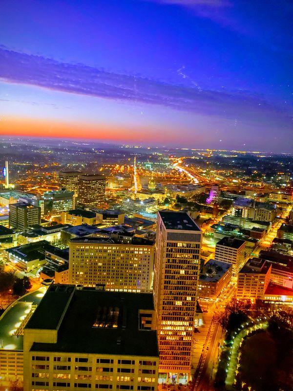 Downtown Atlanta at dawn  thumbnail