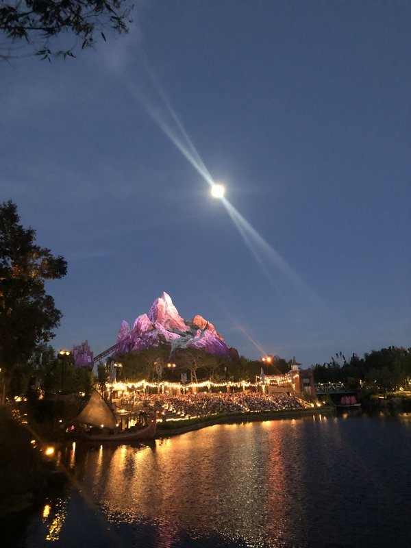 Moonlight over Expedition Everest thumbnail