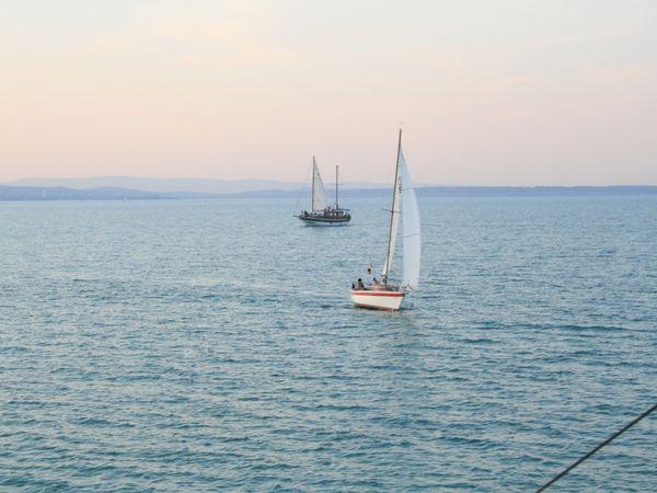 Sailing over Lake Balaton thumbnail