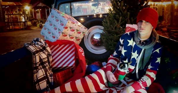 55 Ford & Christmas thumbnail