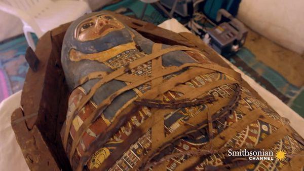 Preview thumbnail for New Discoveries at Saqqara