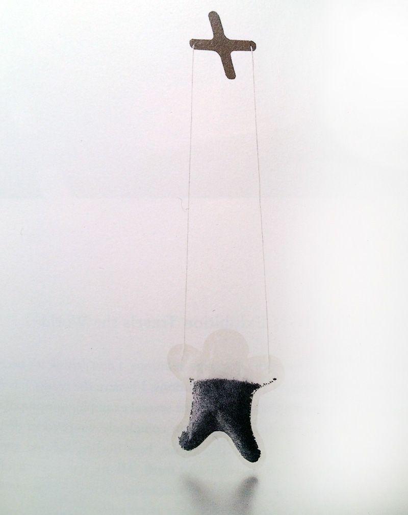 The dancing teabag puppet designed by Naoto Fukasawa (image: Designing Design)