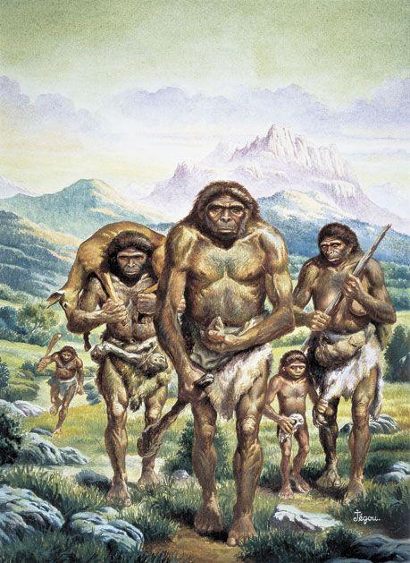 Neanderthal men