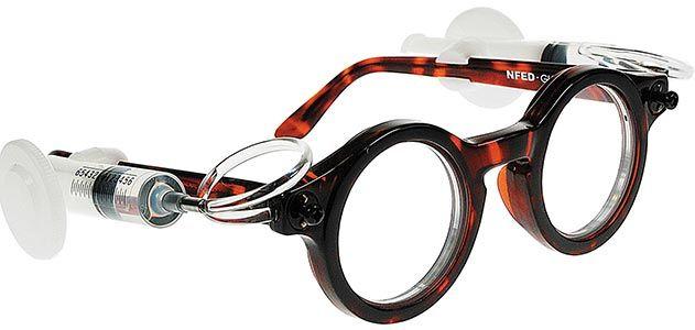 Joshua Silver adaptive eyeglasses
