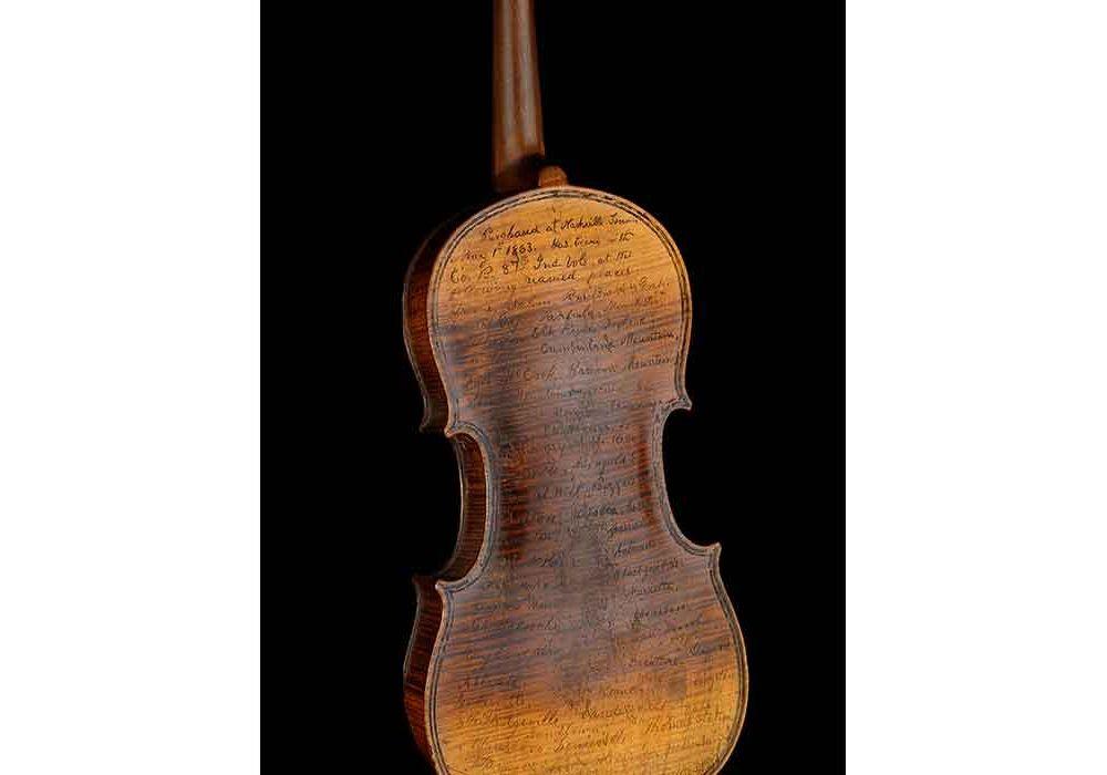 Conn's Civil War violin