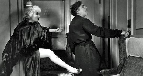 Carole Lombard and John Barrymore in Twentieth Century