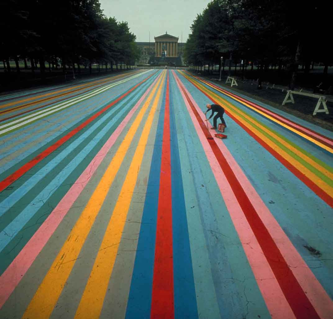 The Painter Who Earned His Stripes