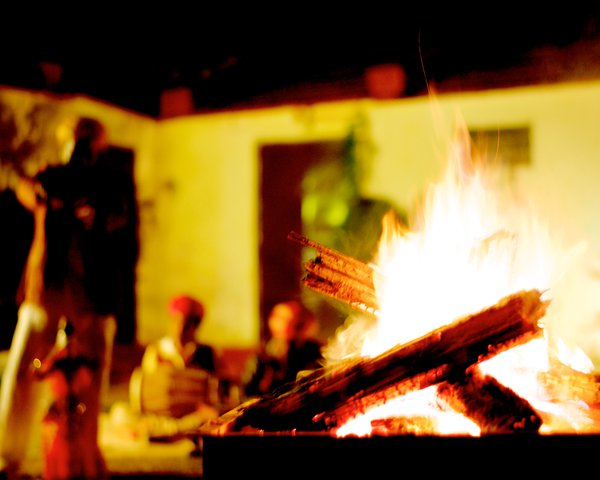Bonfire in Rajasthan thumbnail