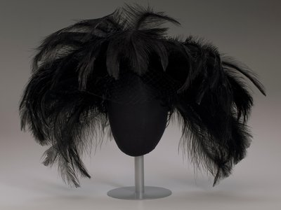 """One of Mae Reeves' """"showstopper"""" hats"""