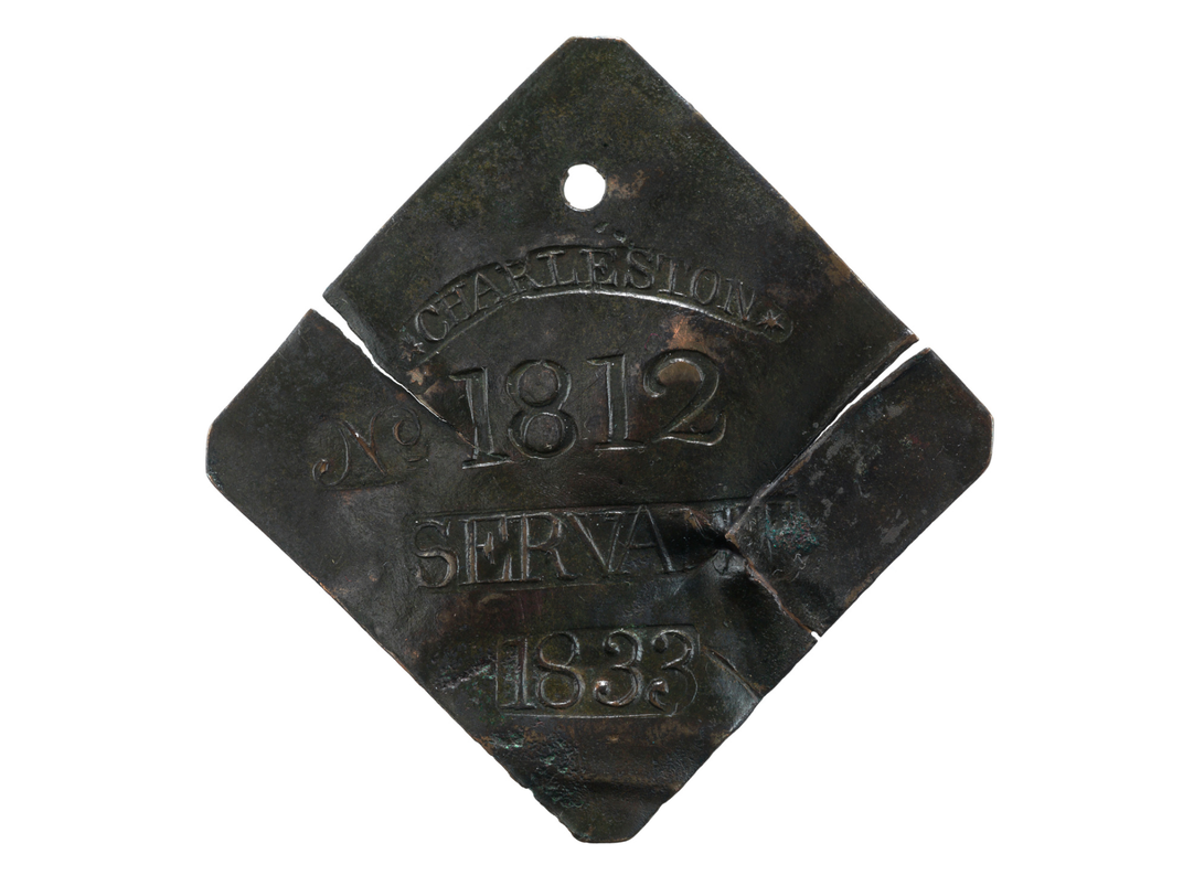 This Rare Copper Badge Tells a Story of Slavery in 19th-Century Charleston