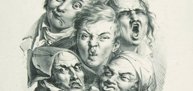 Louis-Leopold Boilly's The Grimaces