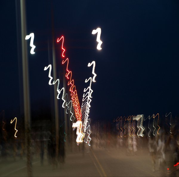 City lights - Thessaloniki thumbnail