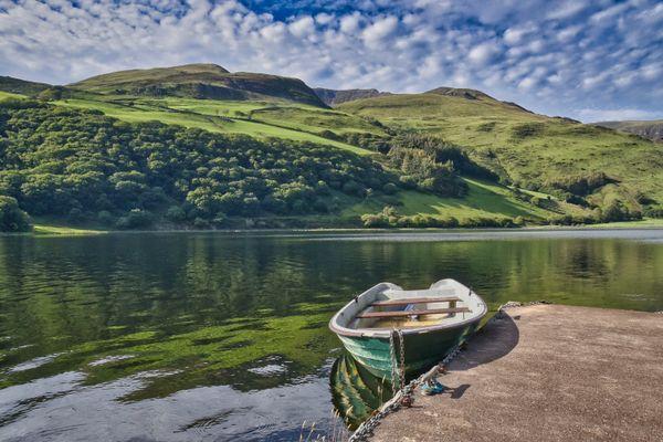 boat at Talyllyn Lake thumbnail