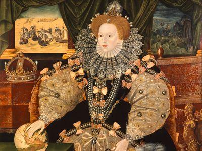 One of the three Armada portraits of Queen Elizabeth I