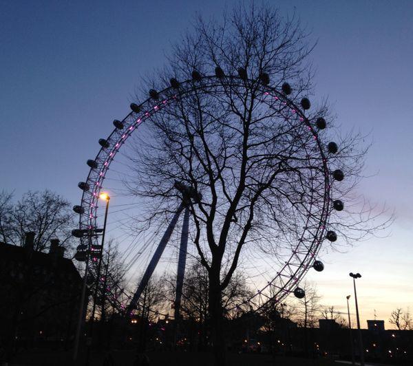 Behind the Millennium Wheel. thumbnail