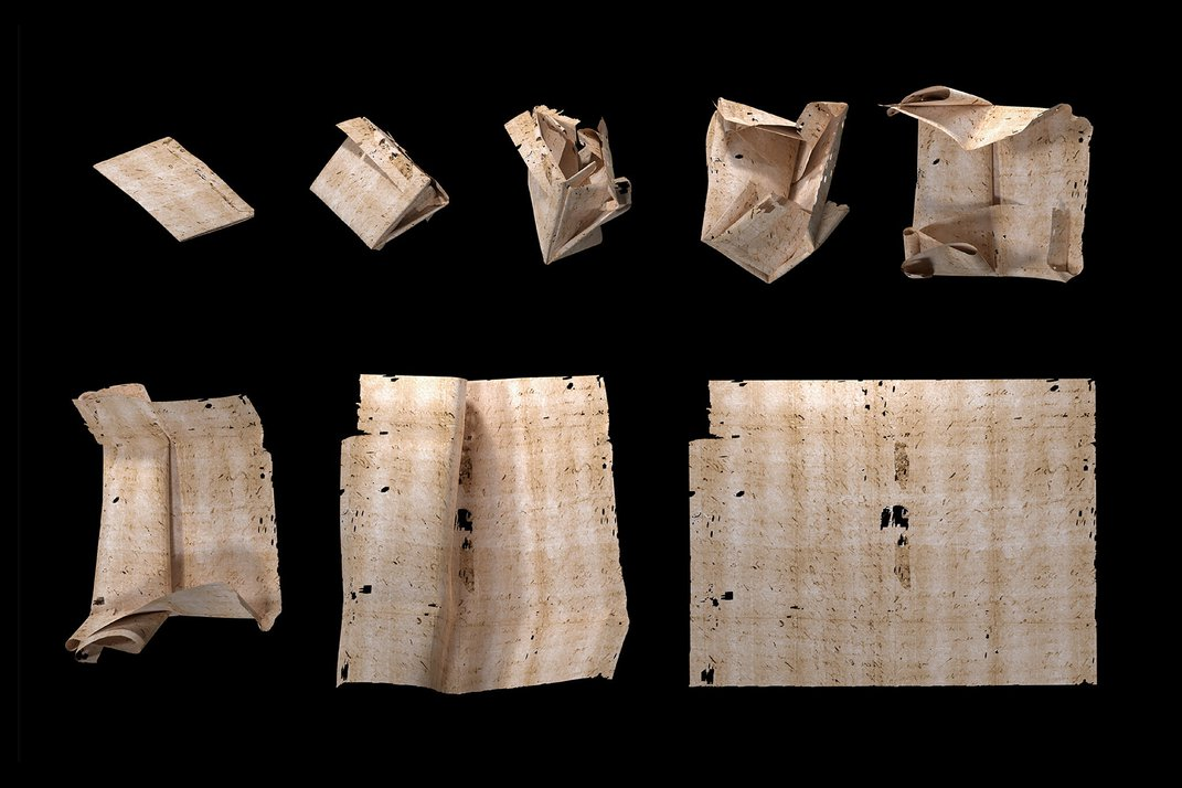 How Researchers Are Reading Centuries-Old Letters Without Opening Them