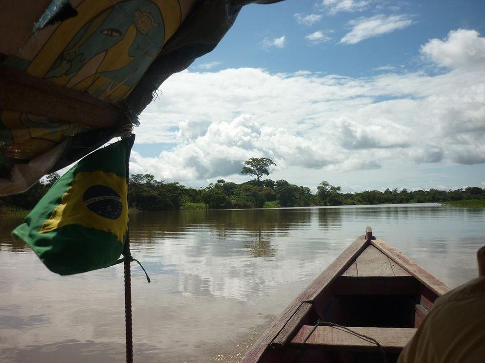 Javari River, Amazonas, Brazil