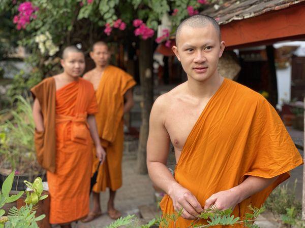 Monks in Laos thumbnail