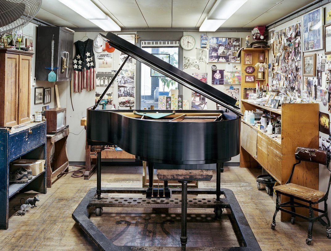 Photographer Captures the Enduring Grandeur of the Steinway Piano Factory