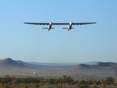 Stratolaunch's large aircraft, nicknamed 'Roc,' flew for three hours and 14 minutes and reached a maximum altitude of 14,000 feet.
