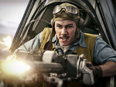 Nick Jonas plays Bruno Gaido, a rear gunner who attacked the Imperial Japanese Navy's carrier fleet during the Battle of Midway.