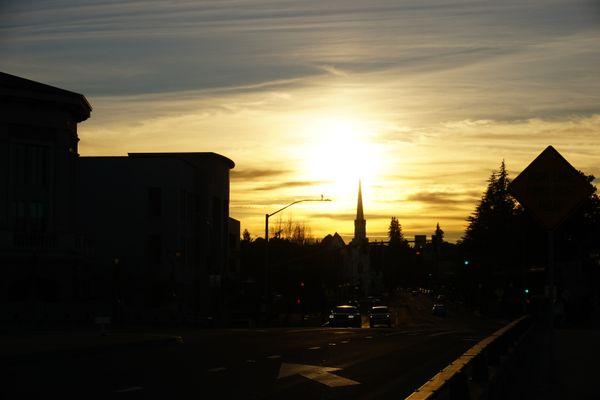 Sunset in Napa thumbnail