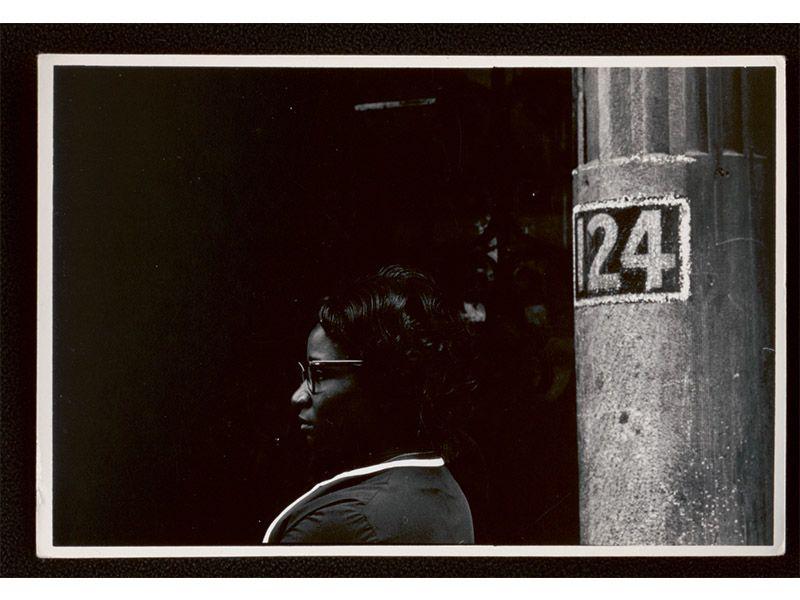 "Shawn Walker, ""Neighbor at 124 W 117th St, Harlem, New York"""