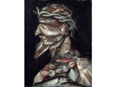 The Admiral, 16th century | Giuseppe Arcimboldo
