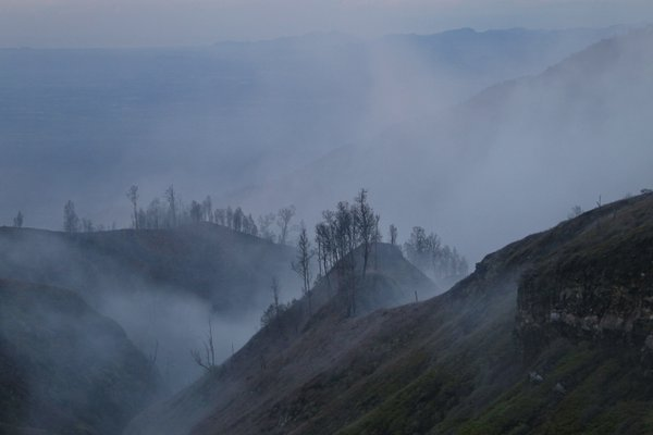 On the way to Ijen Caldera, East Java. thumbnail