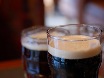 The beer that flooded the streets was porter, an extremely dark-colored beer that was traditionally aged for a time before being drunk–which is why it was stored in vats.