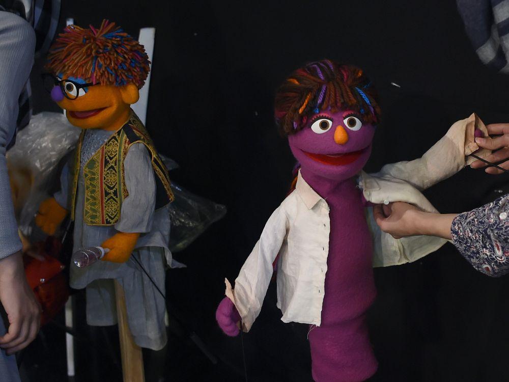 Afghan Sesame Street Characters