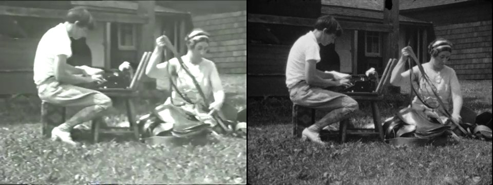 Stills from Hilltop happenings, Harpursville, summer 1932, 1932. Marion Sanford and Cornelia Chapin papers, 1929-1988. Archives of American Art, Smithsonian Institution.
