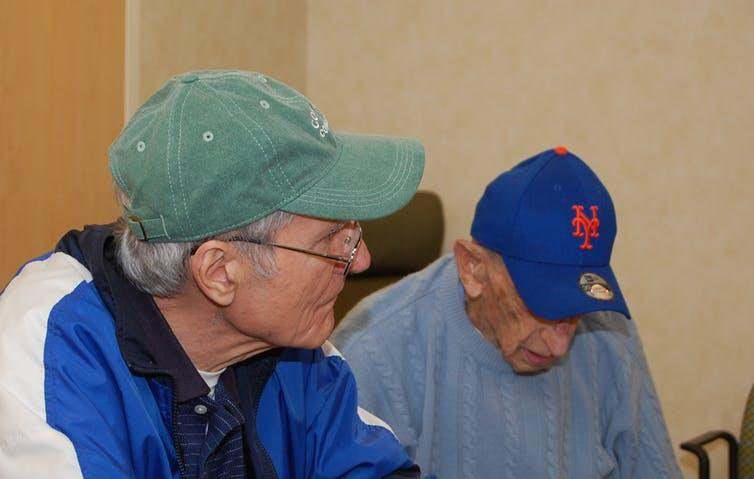 A New Therapy Has People With Dementia Sharing Baseball Memories